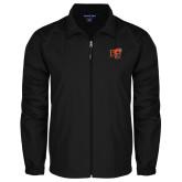 Full Zip Black Wind Jacket-BU Wildcat