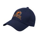 Navy Heavyweight Twill Pro Style Hat-Primary Mark