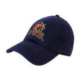 Navy Twill Unstructured Low Profile Hat-Primary Mark