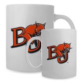 Full Color White Mug 15oz-BU Wildcat