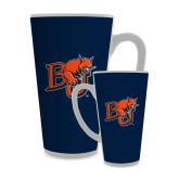 Full Color Latte Mug 17oz-BU Wildcat