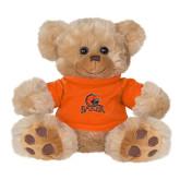 Plush Big Paw 8 1/2 inch Brown Bear w/Orange Shirt-Primary Mark