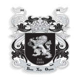 Medium Decal-Coat of Arms, 8 inches tall