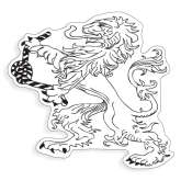 Extra Large Decal-Lion, 18 inches tall