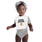 White Baby Bib-Future Beta Chi Cub