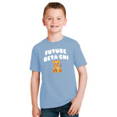 Youth Light Blue T Shirt-Future Beta Chi Cub