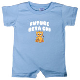 Light Blue Infant Romper-Future Beta Chi Cub