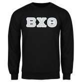 Black Fleece Crew-Greek Letters, Tackle Twill