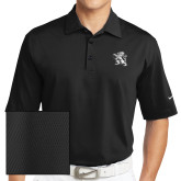 Nike Sphere Dry Black Diamond Polo-Lion