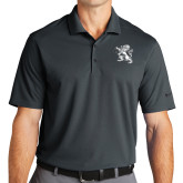 Nike Golf Dri Fit Charcoal Micro Pique Polo-Lion