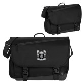 Metro Black Compu Brief-Coat of Arms