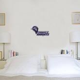 1 ft x 2 ft Fan WallSkinz-Purple Knights Stacked w/ Knight Head