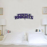 6 in x 2 ft Fan WallSkinz-Purple Knights