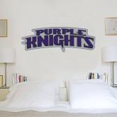 1 ft x 3 ft Fan WallSkinz-Purple Knights