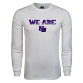 White Long Sleeve T Shirt-We Are UB