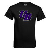 Black T Shirt-Interlocking UB