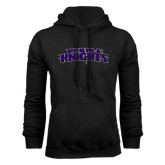 Black Fleece Hoodie-Purple Knights