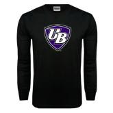 Black Long Sleeve TShirt-UB Shield