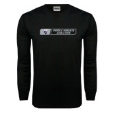 Black Long Sleeve TShirt-Purple Knights Athletics