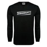 Black Long Sleeve TShirt-UB Knights