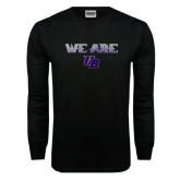 Black Long Sleeve TShirt-We Are UB