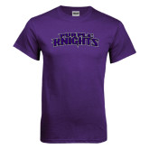 Purple T Shirt-Purple Knights