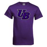 Purple T Shirt-Interlocking UB