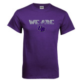 Purple T Shirt-We Are UB