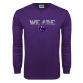 Purple Long Sleeve T Shirt-We Are UB
