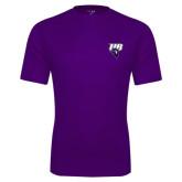 Performance Purple Tee-Primary Mark