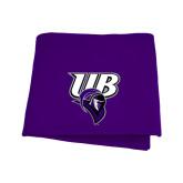 Purple Sweatshirt Blanket-Primary Mark
