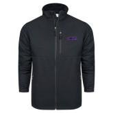 Columbia Ascender Softshell Black Jacket-Purple Knights
