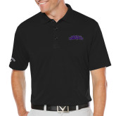 Callaway Opti Dri Black Chev Polo-Purple Knights