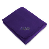 Purple Arctic Fleece Blanket-Purple Knights