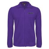 Fleece Full Zip Purple Jacket-Purple Knights