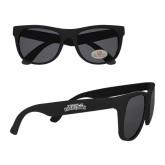 Black Sunglasses-Purple Knights