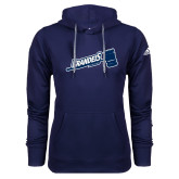 Adidas Climawarm Navy Team Issue Hoodie-Brandeis Athletics