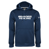 Under Armour Navy Performance Sweats Team Hoodie-Fencing