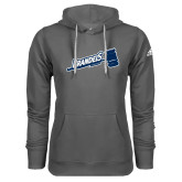 Adidas Climawarm Charcoal Team Issue Hoodie-Brandeis Athletics