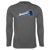 Performance Steel Longsleeve Shirt-Brandeis Athletics