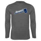 Syntrel Performance Steel Longsleeve Shirt-Brandeis Athletics