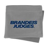 Grey Sweatshirt Blanket-Brandeis Judges Wordmark