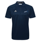Adidas Climalite Navy Jacquard Select Polo-Brandeis Athletics