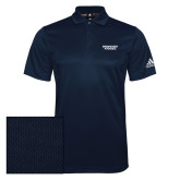 Adidas Climalite Navy Grind Polo-Brandeis Judges Wordmark