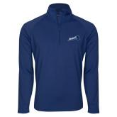 Sport Wick Stretch Navy 1/2 Zip Pullover-Brandeis Athletics