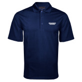 Navy Mini Stripe Polo-Brandeis Judges Wordmark