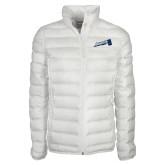 Columbia Lake 22 Ladies White Jacket-Brandeis Athletics