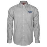 Red House Grey Plaid Long Sleeve Shirt-Brandeis Judges Wordmark