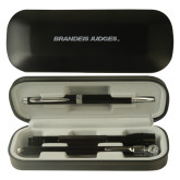 Black Roadster Gift Set-Brandeis Judges Wordmark Engraved