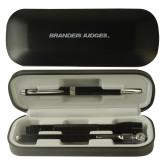 Black Roadster Gift Set-Brandeis Judges Wordmark Engraved